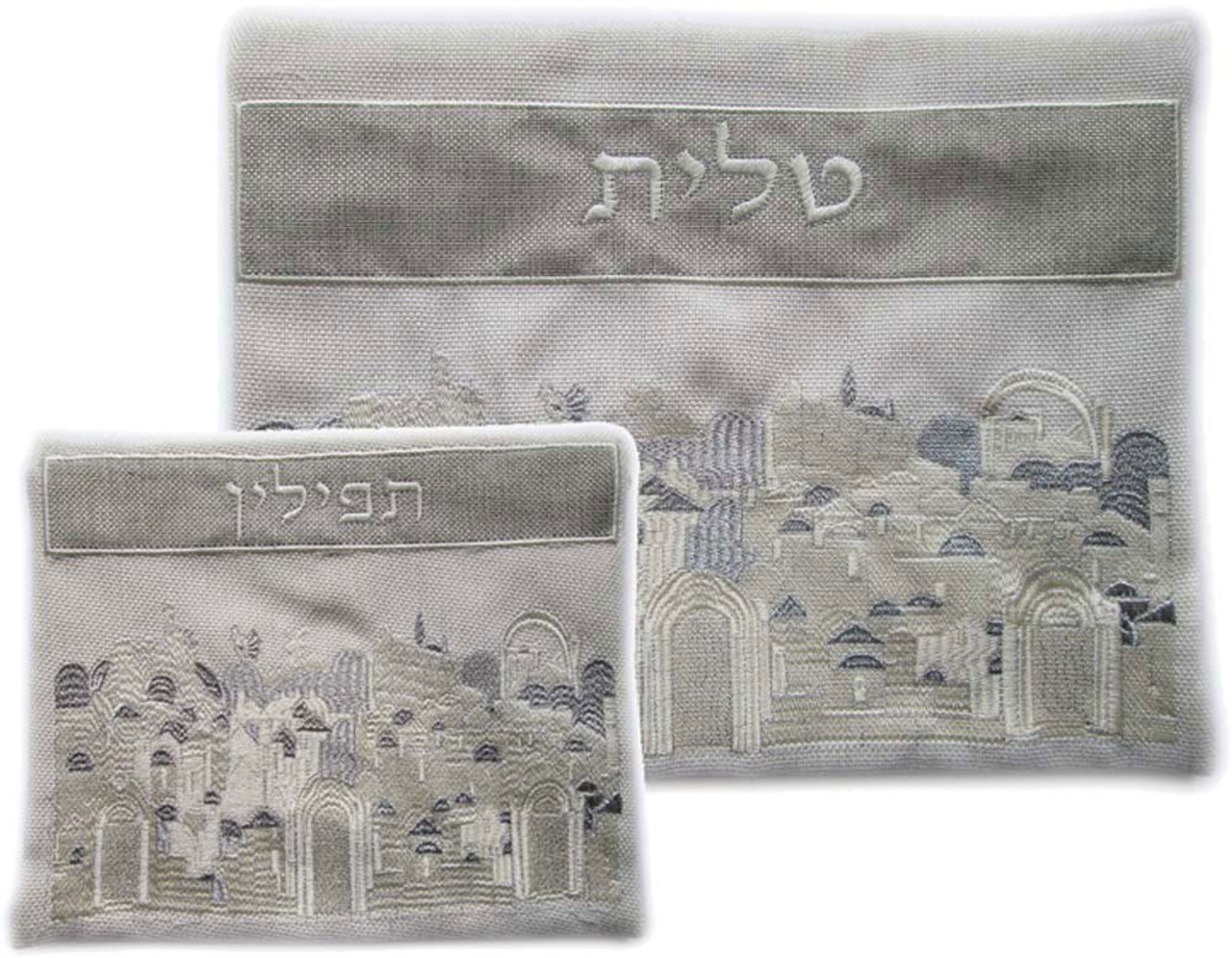 Linen Jerusalem of Old Tallit Bag