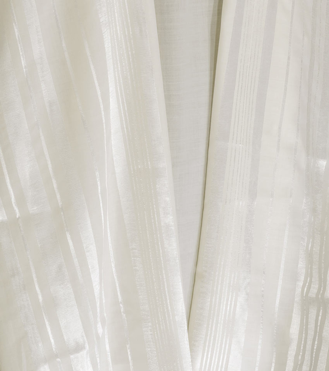White-Striped Traditional Wool Tallit