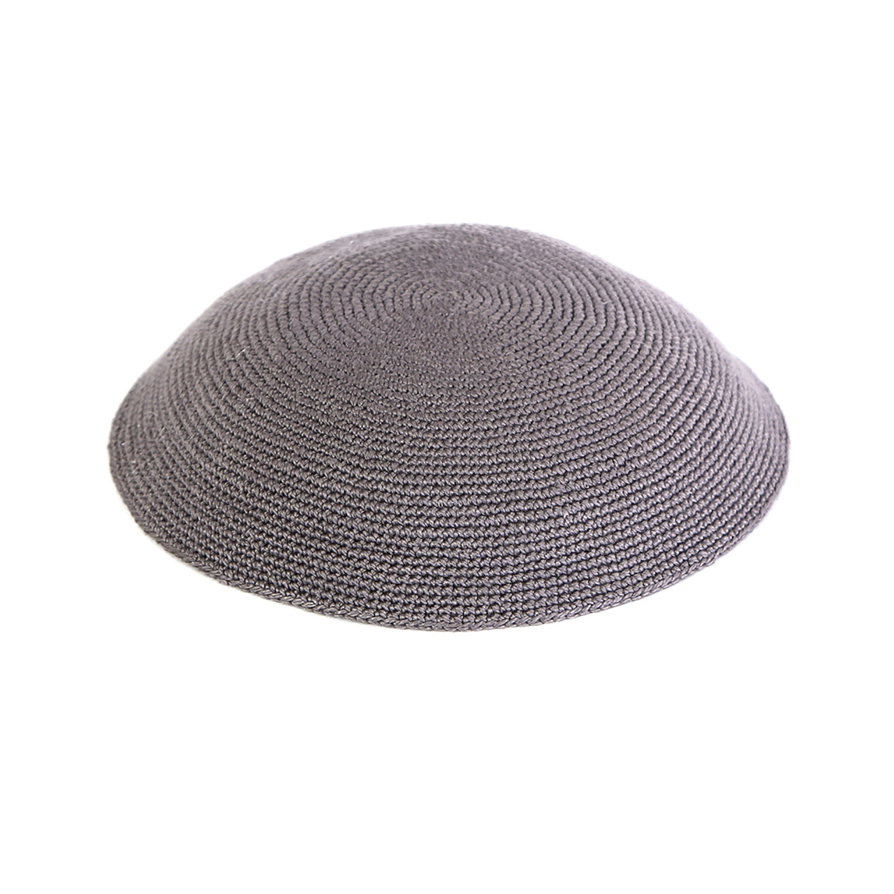 Gray Knitted Kippah