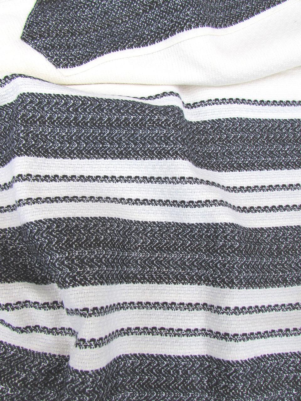 Carmel Black-Silver Talllit