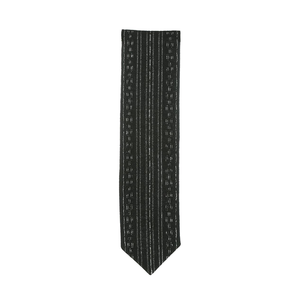 Handwoven Black & Silver Atara