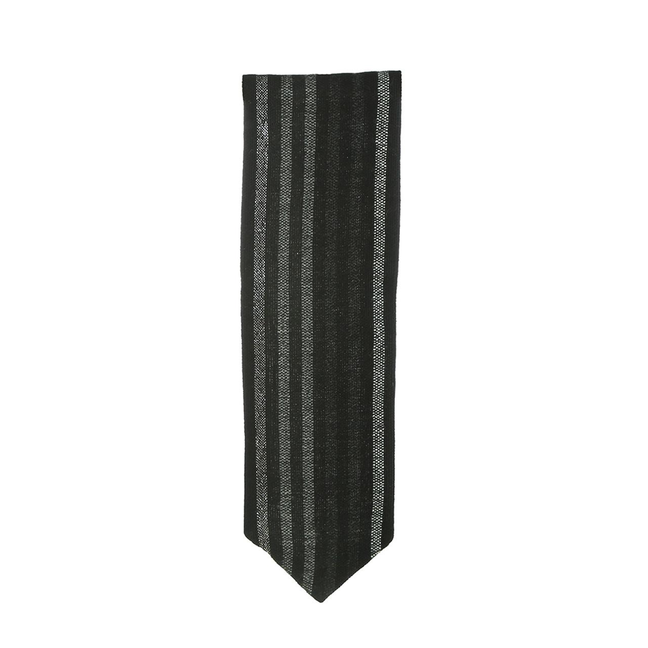 Handwoven Black, White & Gray Atara