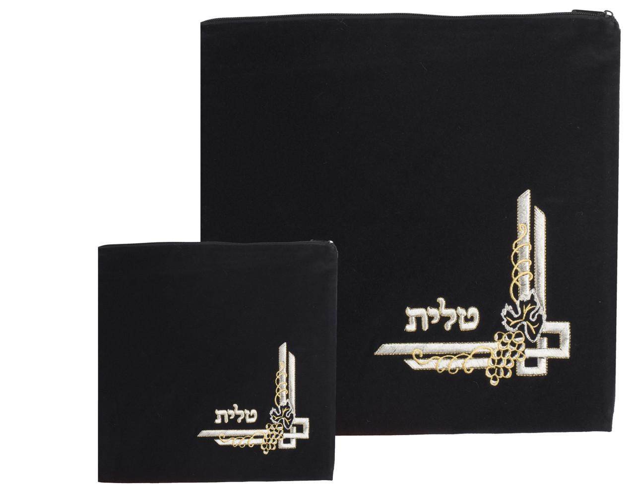 Classic Velvet Tallit Bag Design 12