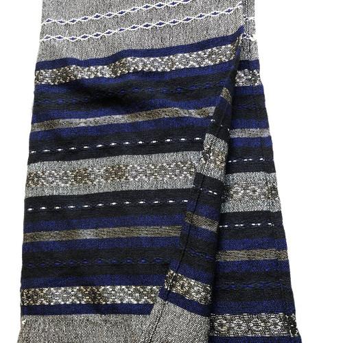 Gabrieli Premium - Gray with Blue, White & Silver
