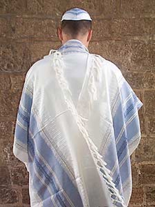 Powder Blue Tallit