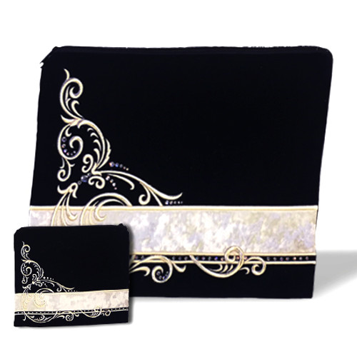 Contemporary 69 Velvet Tallit Bag