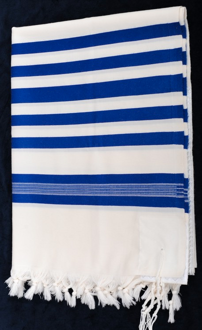 Keter Blue-Striped Tallit