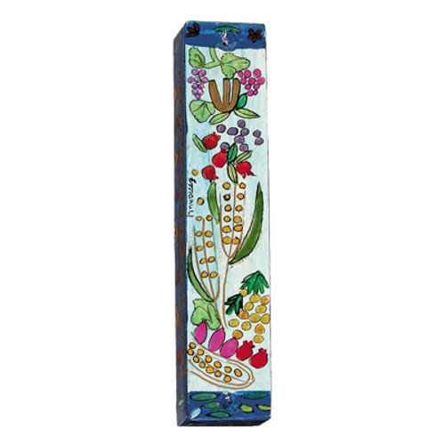 Seven Species Mezuzah