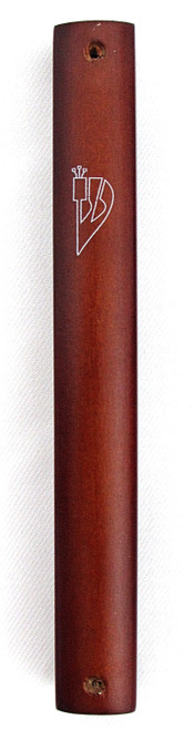 Wood Mezuzah Case