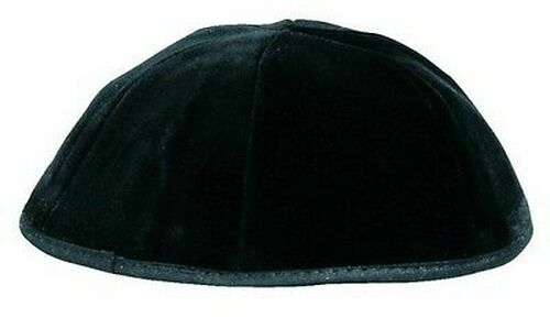 Washable Black Velvet Kippah