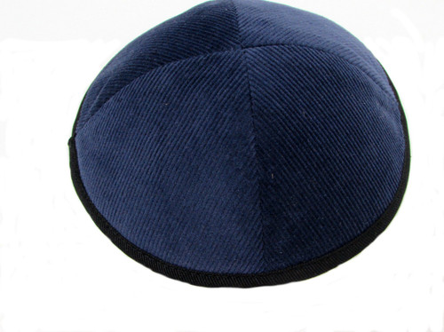 Blue Corduroy Kippah