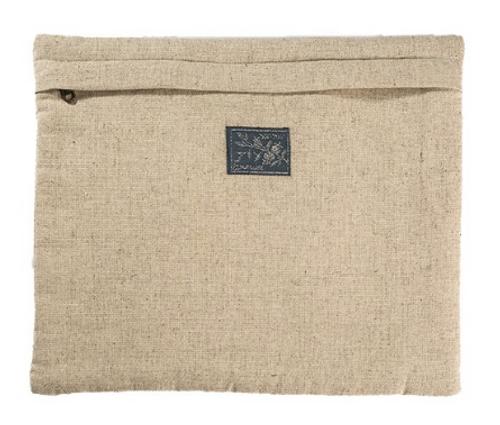 Multi-colored Square Panel Linen Tallit Bag