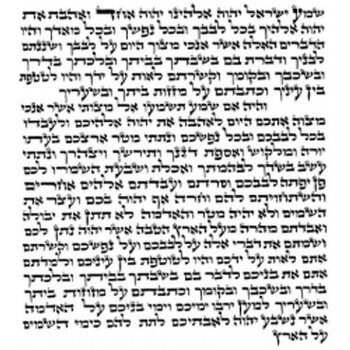4-inch Mezuzah Scroll