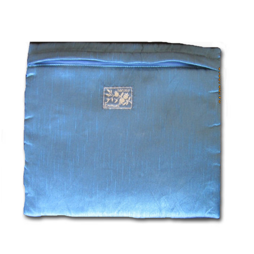 Back side of tallit bag. If you choose to add name embroidery, it goes here.