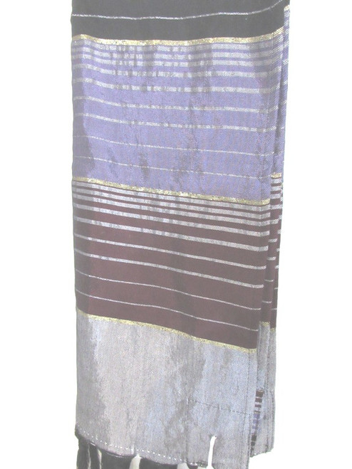 Burgundy & Purple Cloudburst Tallit