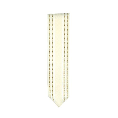 Handwoven White & Gold Atara