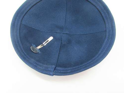 Blue Cloth Kippah