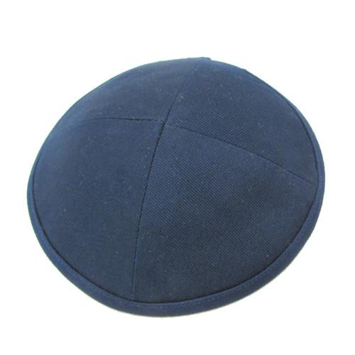 Blue Terylene Kippah