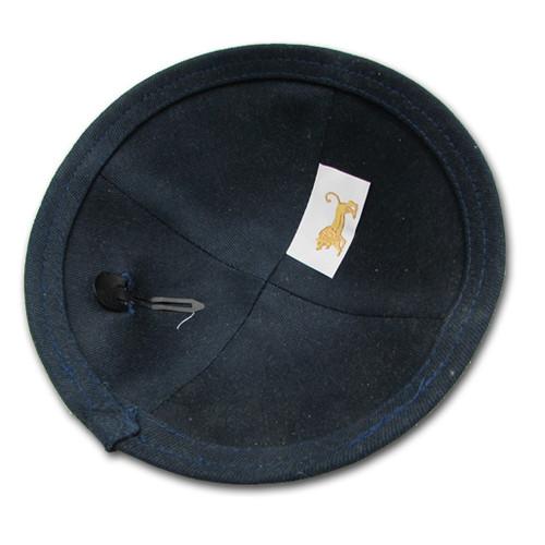 Black Linen Kippah