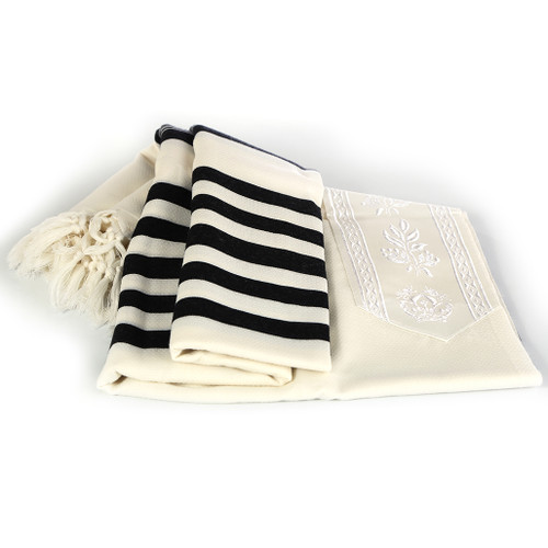Shachar Midnight Blue Nonslip Tallit