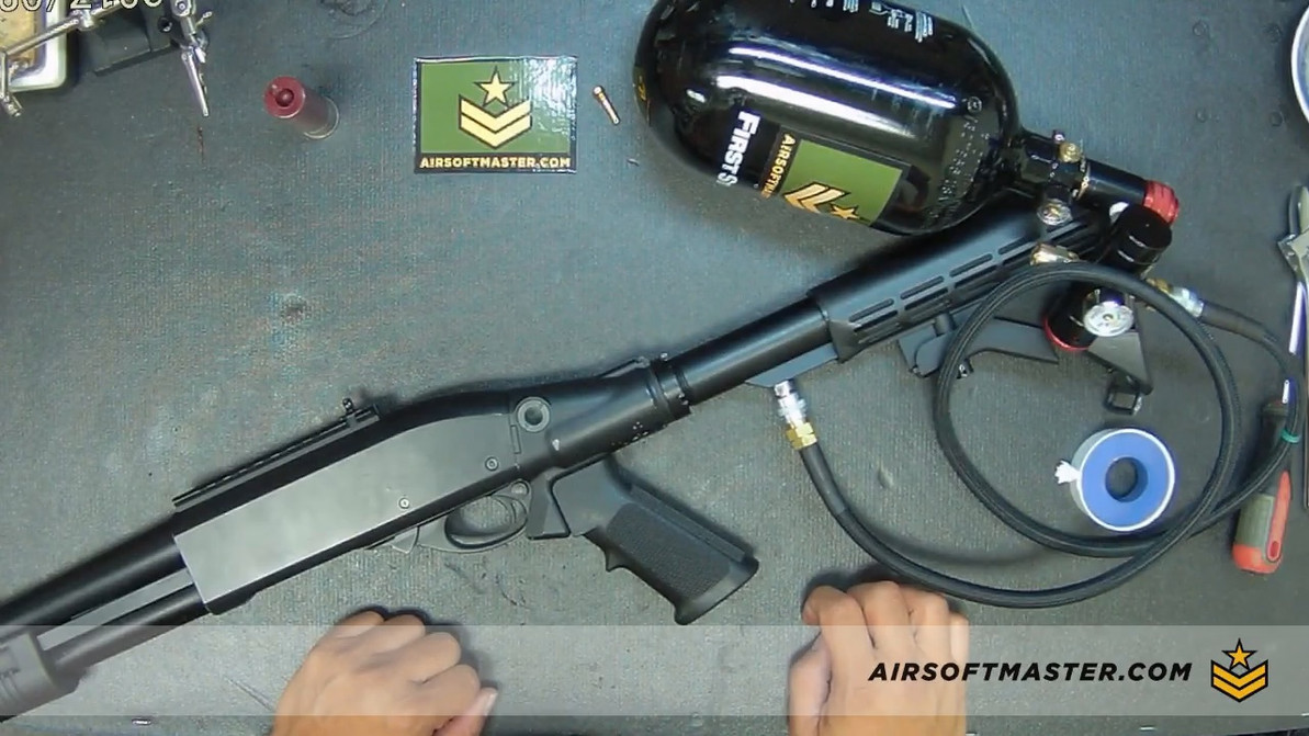 How to Install the CQB Russian HPA Adapter to a Jag Arms Scattergun