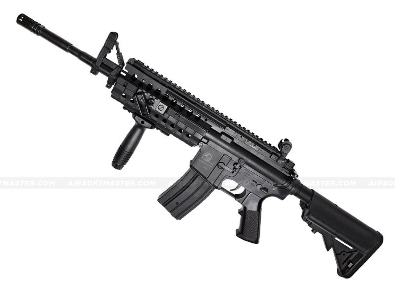 ASG Armalite M15 S I R  S-System MOD-2 M4 Airsoft Rifle Black