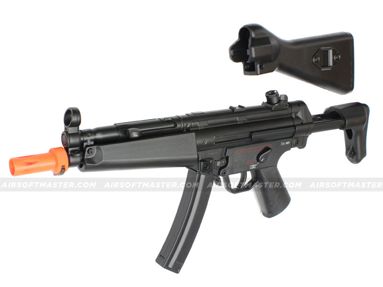 Elite Force H&K MP5 A4 Competition Airsoft Gun w/ Extra A5 Full Stock