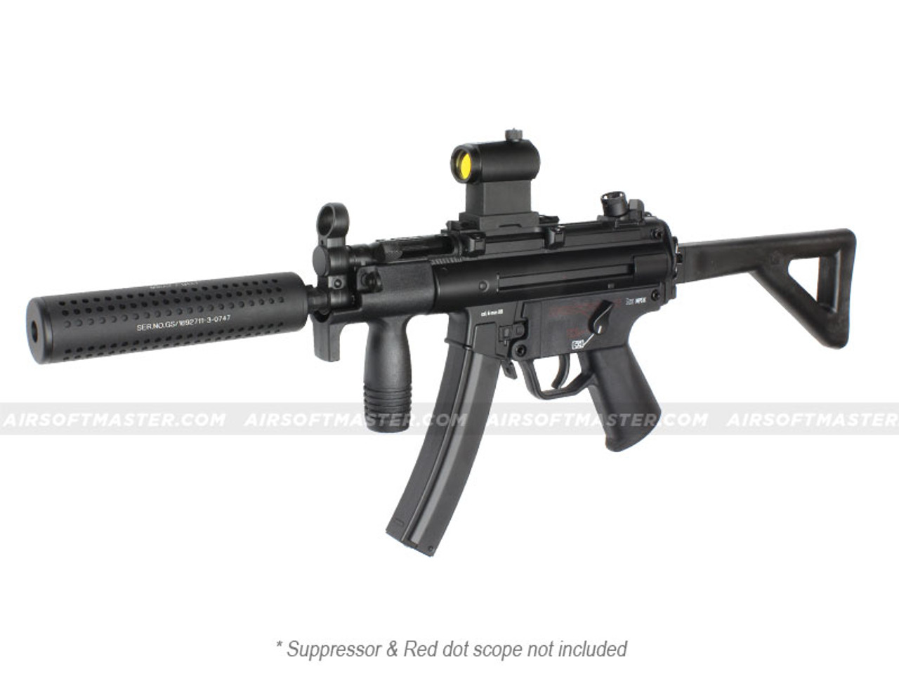 H&K MP5-K Full Metal Airsoft Gun Limited Edition by Umarex