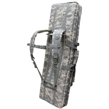 "Condor 46"" Double Rifle Bag - ACU (Rear View)"