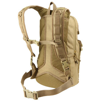 Condor 165 Fuel Hydration Pack - Tan (Rear View)