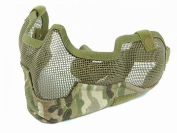 Bravo V2 Strike Steel Mesh Mask - MultiCam