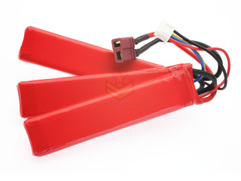 G&G Deans 11.1V 1100MAH 20C 3PC Lipo Battery