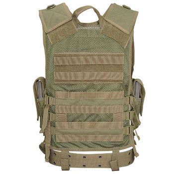 Condor Elite Tactical Vest Rear View