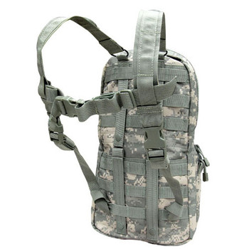 Condor MOLLE Hydration Carrier ACU Rear View w/ Strap