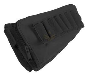 Modify Rifle Stock Ammo Pouch - Black