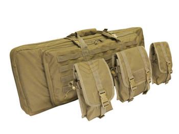 """Condor 42"""" Double Rifle Case Tan"""