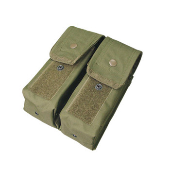 Condor MA6 MOLLE Double AR/AK Mag Pouch in OD
