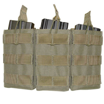 Condor MA27 Tripple Open Top M4/M16 Mag Pouch in Olive Drab