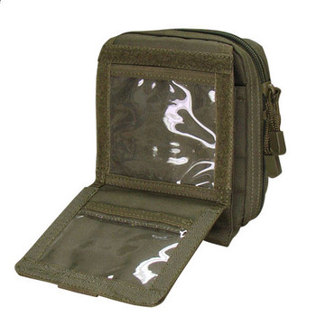 Condor MA35 Map Pouch in OD opened