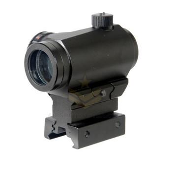 Lancer Tactical CA-407B Mini Red Green Dot Sight w/ Riser