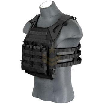 Lancer Tactical JPC Jumpable Plate Carrier Black