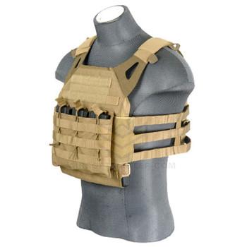 Lancer Tactical JPC Jumpable Plate Carrier Coyote Tan