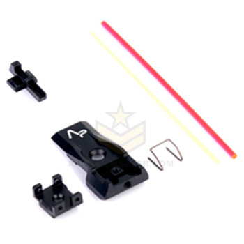 AIP Aluminum Front and Rear Fiber Optic Sight Version 2 For TM 5.1