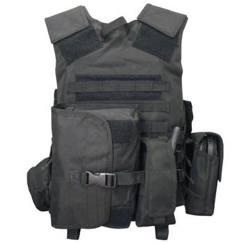 Condor MVP Complete Modular Tactical Vest - Rear View