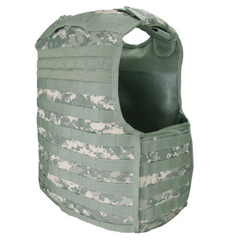 Condor QPC Quick Release MOLLE Plate Carrier in ACU Back