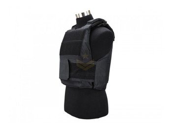 Defcon 600 Denier Body Armor Shell Black