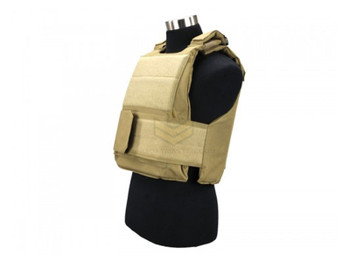 Defcon 600 Denier Body Armor Shell Tan