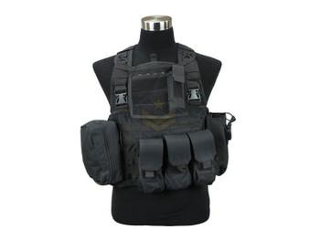 Defcon Commando Chest Rig Black