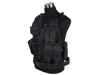 Defcon Tactical Crossdraw Vest Black