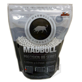 Madbull .25g BBs Precision Grade 4000Rds